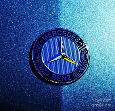 Mercedes Light And Shade Art Print by Marcus Dagan