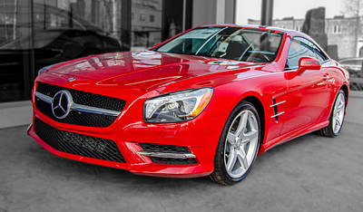 Photograph - Mercedes Sl550   7d01718 by Guy Whiteley