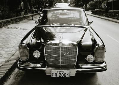 Mercedez Benz Art Print