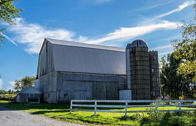 Moody Trees - Mercer County Barn by Anthony Thomas