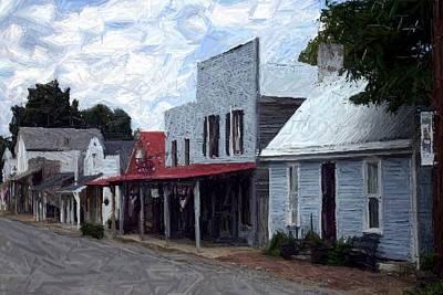 Merchants' Row - Perryville Ky Art Print