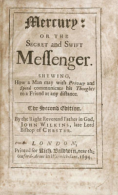 'mercury' (1694) Print by Library Of Congress