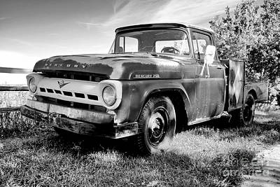 Photograph - Mercury 250 Bw by Trever Miller