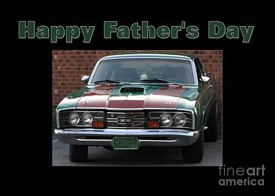 Digital Art - Mercury Father's Day by JH Designs