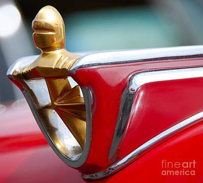 Photograph - Mercury Hood Ornament by Mark Spearman
