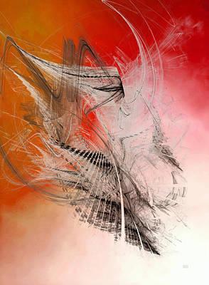 Mercury In Aries - Cardinal Fire Art Print
