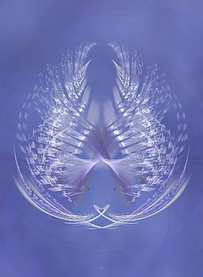 Digital Art - Mercury In Libra - Cardinal Air by Menega Sabidussi