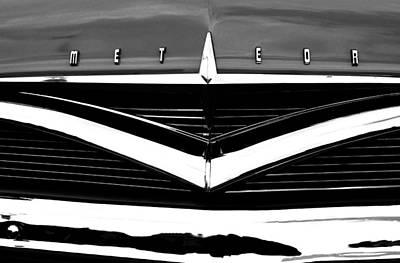 Mercury Meteor 1956 Art Print