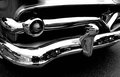 Mercury Meteor Grill 1955 Art Print