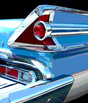 Photograph - Mercury Park Lane - Posterized by Larry Hunter