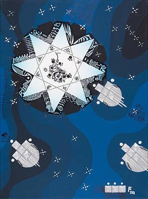 Mercury Art Print by Peter Hermes Furian
