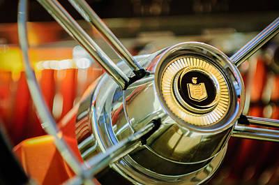 Photograph - Mercury Steering Wheel Emblem -3521c by Jill Reger