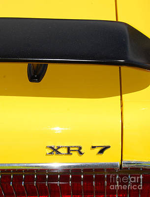 Photograph - Mercury Xr 7 by Mark Spearman