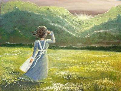 Painting - Mercy Is New Every Morning by Hollie Ward