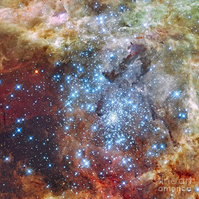 Photograph - Merging Clusters Of Stars by Rod Jones
