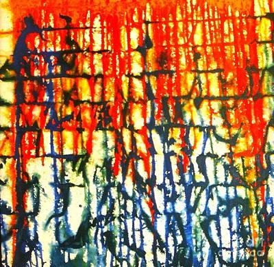 Merging Emotion Art Print by Baljit Chadha