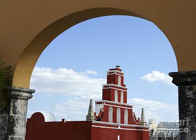 Photograph - Merida Arch Mexico by John  Mitchell