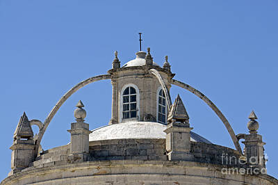 Photograph - Merida Cathedral Dome by John  Mitchell