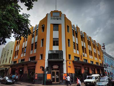 Photograph - Merida Deco - Edificio La Nacional by Lance Vaughn