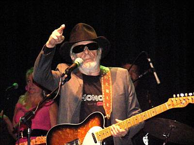 Big Wine Bottles Photograph - Merle Haggard In Concert by Kelly Mac Neill
