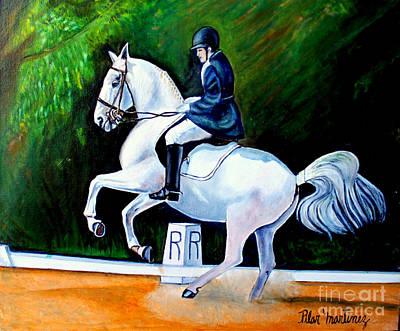 Painting - Merlin's Dance by Pilar  Martinez-Byrne