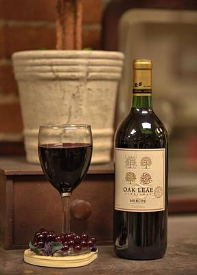 Photograph - Merlot by Gordon Elwell