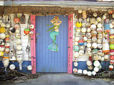 Painting - Mermaid Beach Door by Audrey Peaty