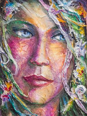 Bride Mixed Media - Mermaid Bride by Patricia Allingham Carlson