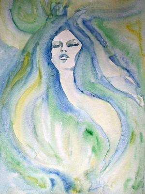 Mermaid Dream Art Print by Alma Yamazaki