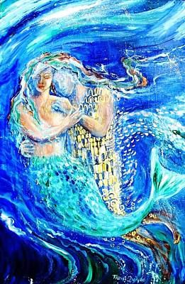 Mermaid Dreamer  Original by Trudi Doyle