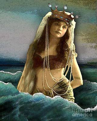 Mermaid Digital Art - Mermaid Dreams by Carolyn Slattery
