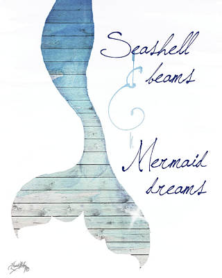 Mermaids Wall Art - Painting - Mermaid Dreams by Elizabeth Medley
