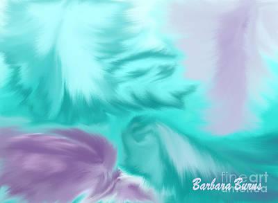 Digital Art - Mermaid Hair by Barbara Burns