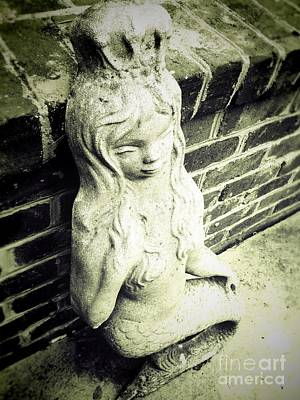Photograph - Mermaid In Stone II by J Kinion