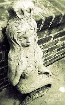 Photograph - Mermaid In Stone by J Kinion