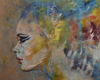 Mermaid Painting - Mermaid by Michael Creese
