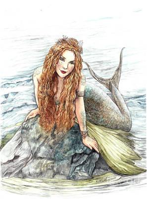 Painting - Mermaid by Morgan Fitzsimons