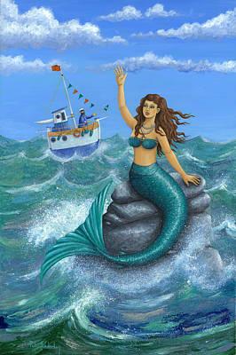 Peter Adderley Photograph - Mermaid by Peter Adderley