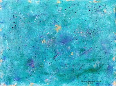 Painting - Mermaid Slumber by Brenda Stevens Fanning
