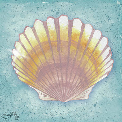 Mermaid Tail Painting - Mermaid Treasure V by Elizabeth Medley