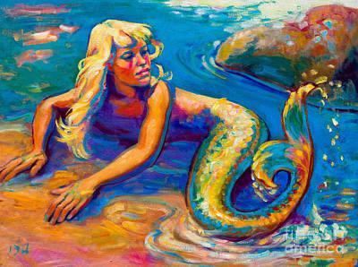 Painting - Mermaiden by Isa Maria