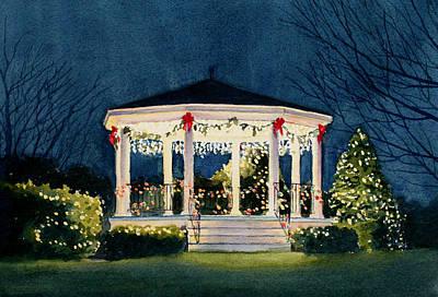 Merry And  Bright Art Print by Vikki Bouffard