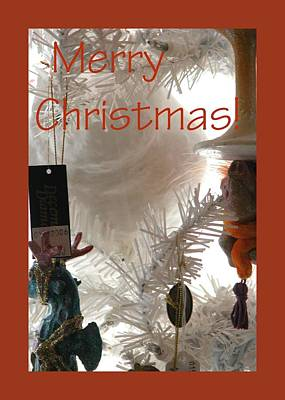 Jerry Sodorff Royalty-Free and Rights-Managed Images - Merry Christmas 0182 by Jerry Sodorff