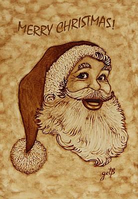 Painting - Merry Christmas 2 by Georgeta  Blanaru