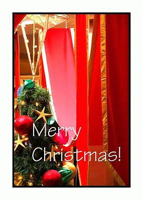 Photograph - Merry Christmas 5606 by Jerry Sodorff