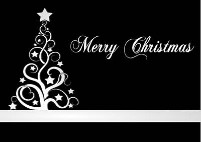 Digital Art - Merry Christmas Card by Martin Capek