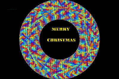 Digital Art - Merry Christmas-d1 by Anand Swaroop Manchiraju