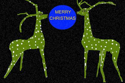 Digital Art - Merry Christmas-d2 by Anand Swaroop Manchiraju