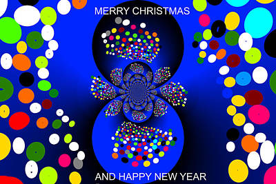 Digital Art - Merry Christmas-d3 by Anand Swaroop Manchiraju