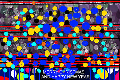 Digital Art - Merry Christmas-d5 by Anand Swaroop Manchiraju